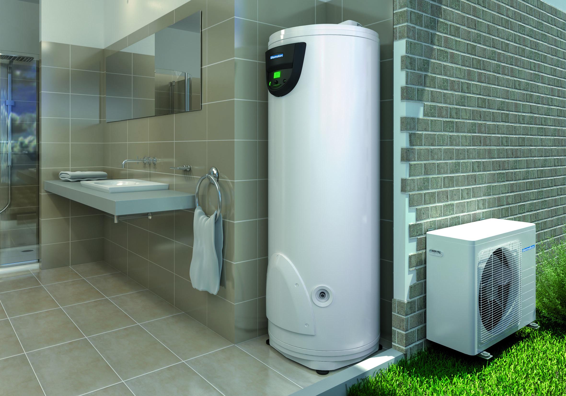 Geld Und Strom Sparen Mit Einer Warmwasser Warmepumpe Domotec